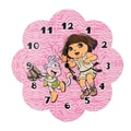 Trend Lab Nickelodeon Dora the Explorer  Wall Clock