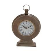 Woodland Imports Round Shaped Table Clock