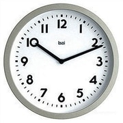 Bai Design 10'' Modern Wall Clock; Landmark White