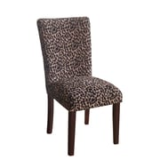 HomePop Leopard Parsons Chair (Set of 2)