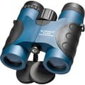 Barska 7x32 WP Deep Sea Roof Binoculars, Bak-4, Blue Lens