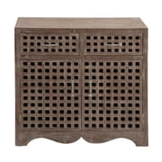 Woodland Imports 2 Drawer Cabinet