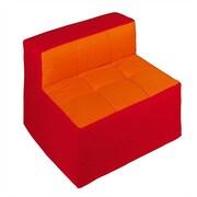 Wesco NA Cocoon Kid's Club Chair; Red / Orange