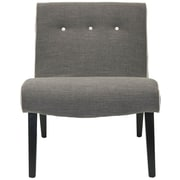 Safavieh Khloe Fabric Lounge Chair; Grey