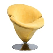 International Design Tulip Leisure Side Chair; Yellow