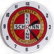 American Retro Double Bubble 14.5'' Schwinn Wall Clock
