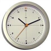 Bai Design 6'' Studio Modern Wall Clock; Formula 1 White