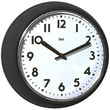 Bai Design 8.3'' Too Cool for School Retro Modern Wall Clock; Black