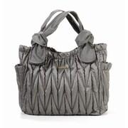 Timi and Leslie Marie Antoinette II Diaper Bag; Silver