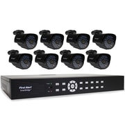 First Alert DCA16810-520 SmartBridge Indoor/Outdoor 16-Channel DVR Video Security System