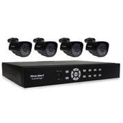 First Alert DCA8405-520 SmartBridge Indoor/Outdoor 8-Channel DVR Video Security System