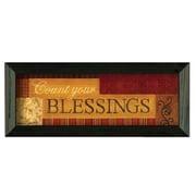 Timeless Frames Count Your BlessIngs by Becca Barton Framed Textual
