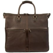 Dr. Koffer Fine Leather Accessories Keats Boarding Tote; Venetian Brown
