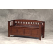 Linon Wood Storage Bench