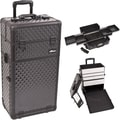 Just Case Trolley Makeup Case; Black
