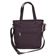 Travelon Anti-Theft Signature Tote Bag; Eggplant