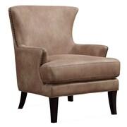 Emerald Home Furnishings Nola Arm Chair; Nougat Beige