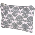 Bumble Bags Filagree Cosmetic Bag; Pink