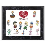Mounted Memories I Love Lucy '60th Anniversary' Memorabilia Plaque
