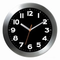 Bai Design 11'' Wall Clock; Mega Black