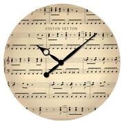 Ashton Sutton 16'' Music Note Wall Clock