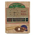Lexington Studios Play Ball Baseball Wall Clock
