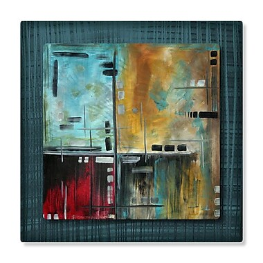 All My Walls 'In The Maze II' by Megan Duncanson Graphic Art Plaque