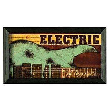 Timeless Frames Electric by John Jones Framed Graphic Art