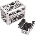 Sunrise Cases Professional Aluminum Cosmetic Makeup Nail Case