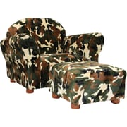 Fantasy Furniture Roundy Kid's Novelty Chair and Ottoman Set