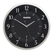 Dainolite Magnus 14'' Wall Clock; Black