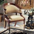 Design Toscano Egyptian Revival Fabric Arm Chair