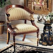 Design Toscano Egyptian Revival Fabric Arm Chair