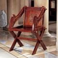 Design Toscano 16th Century Glastonbury Arm Chairs