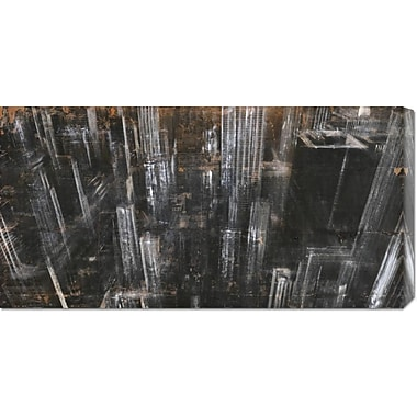 Global Gallery 'NYC Aerial 1' by Dario Moschetta Painting Print on Wrapped Canvas