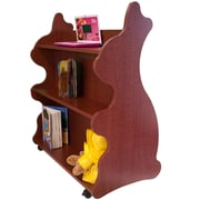 Ace Baby Furniture Rabbit Mobile Double Sided 41.5'' Bookcase; Cherry