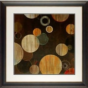 North American Art 'Warm Bubbles' by Liz Jardine Framed Painting Print