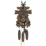 Schneider Traditional 8 Day Movement Musical Cuckoo Wall Clock