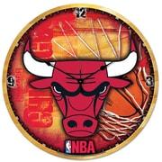 Wincraft NBA 18'' High Def Wall Clock; Chicago Bulls