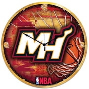 Wincraft NBA 18'' High Def Wall Clock; Miami Heat