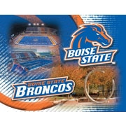 Holland Bar Stool NCAA Graphic Art on Canvas; Boise State