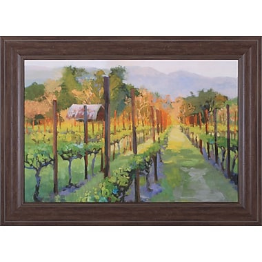 Art Effects Silverado Afternoon by Christine Debrosky Framed Painting Print