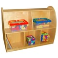 A+ Child Supply Two Sided Arch 30'' Bookcase