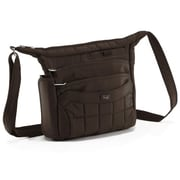 Lug Flutter Mini Cross-Body Bag; Chocolate Brown