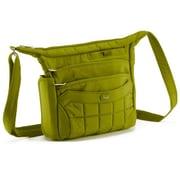 Lug Flutter Mini Cross-Body Bag; Grass Green