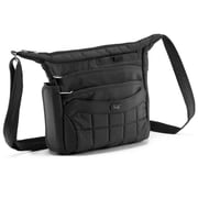 Lug Flutter Mini Cross-Body Bag; Midnight Black