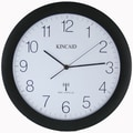 Kincaid Clocks 12.25'' Radio-Controlled Wall Clock