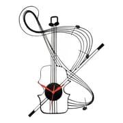 Ashton Sutton Musical Instrument Wall Clock