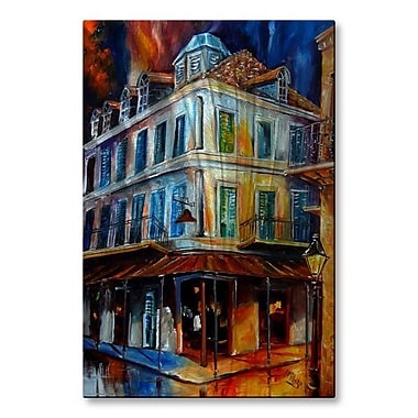 All My Walls 'Napoleon House' by Diane Milsap Painting Print Plaque