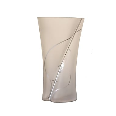 Womar Glass Wind and Grass Vase
